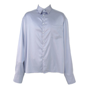 [COUPDEGRACE] CDG SILKY POLY SHIRT (PURPLE GRAY), 쿠드그라스 - 풋셀스토어
