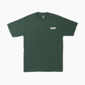 [WARF] WARF Big Face s/s Green, 워프 반팔티 - 풋셀스토어