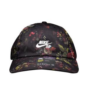나이키 SB 헤리티지 플로랄 캡, NIKE SB HERITAGE FLOWERS AOP CAP, AQ7925-010 - 풋셀스토어