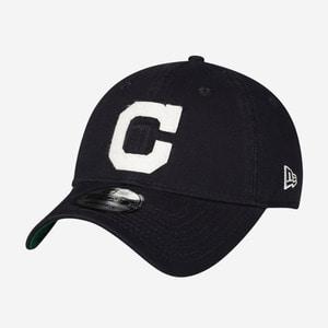 뉴에라 MLB 클리블랜드 인디언스 로고 볼캡 쿠퍼스타운 한정, NewEra MLB Cleveland Indians Cooperstown Cap - 풋셀스토어