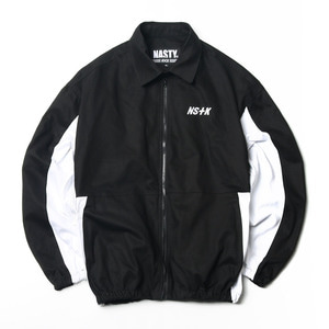 네스티킥, NSTK JOHNNY WORK JACKET BLACK (NK18A010H) - 풋셀스토어