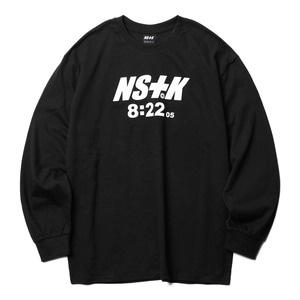 네스티킥, NSTK 822 LONGSLEEVE BLACK (NK18A025H) - 풋셀스토어