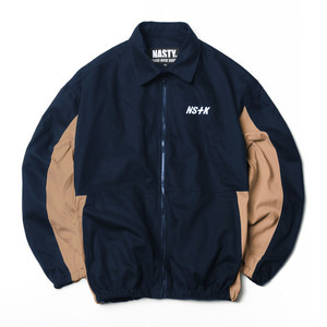 네스티킥, NSTK JOHNNY WORK JACKET NAVY (NK18A010H) - 풋셀스토어