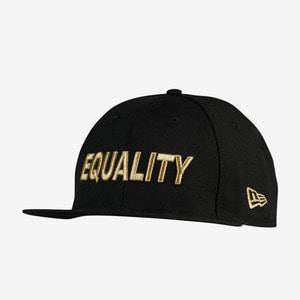 뉴에라 EQUALITY 골드 로고 스냅백, NEW ERA EQUALITY SNAPBACK - 풋셀스토어
