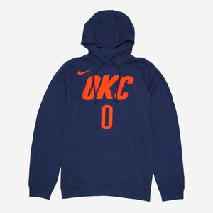 [해외] 나이키 NBA OKC 웨스트브룩 에센셜 후드티, NIKE OKC M WESTBROOK ESSENTIAL HOODIE - 풋셀스토어