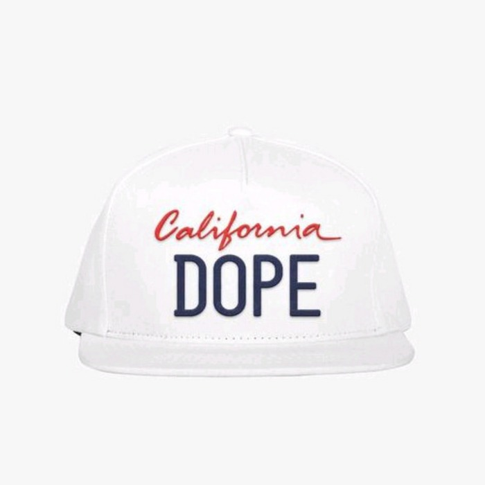 [도프]DOPE Licensed Snapback (White) - 풋셀스토어