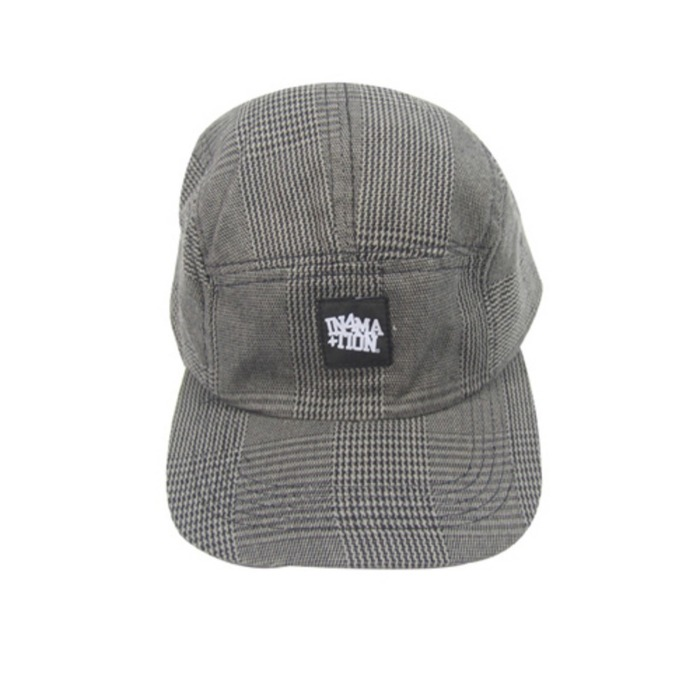 [유에스에이머천다이징]U.S.A MERCHANDISING IN4MATION FORSYTH 5 PANEL HAT - 풋셀스토어