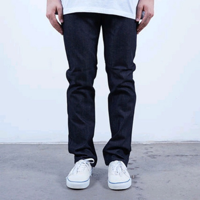 [러스틱다임]RUSTIC DIME SLIM FIT DENIM (MIDNIGHT BLACK) - 풋셀스토어