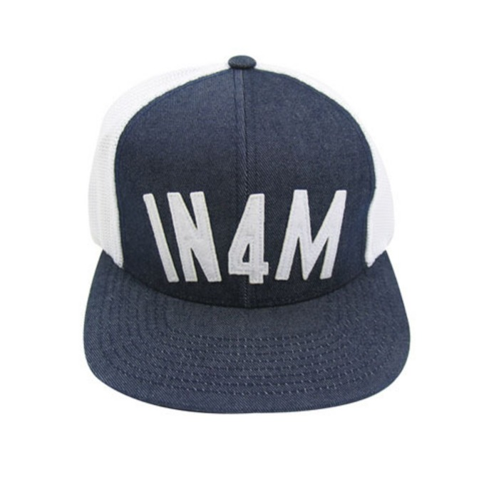 [유에스에이머천다이징]U.S.A MERCHANDISING IN4MATION IN4MARC MESH HAT SNAP BACK - 풋셀스토어