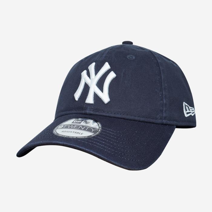 뉴에라 MLB 뉴욕양키즈 로고 볼캡(네이비) - 풋셀스토어