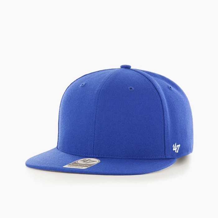 [47BRAND] Classic Sure Shot Snapback Royal 스트랩백 볼캡 - 풋셀스토어