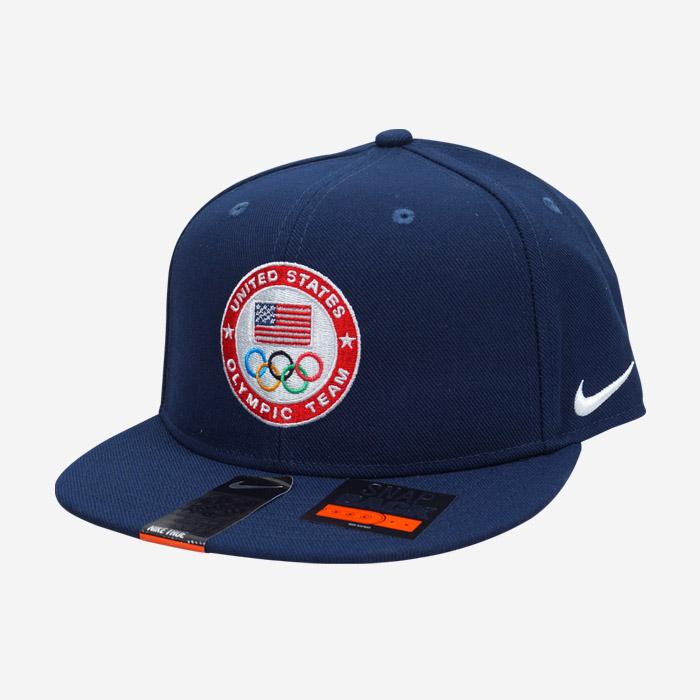 나이키모자 USA 올림픽팀 로고 스냅백 - 풋셀스토어