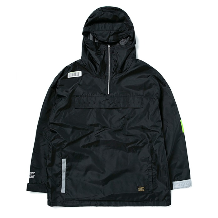 스티그마 STIGMA TIGER OVERSIZED ANORAK JACKET BLACK - 풋셀스토어