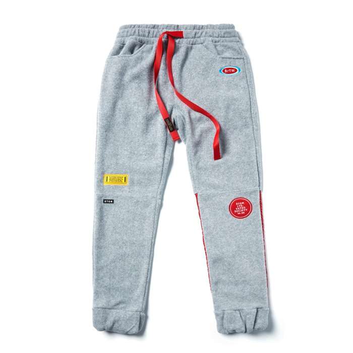 스티그마 STIGMA STGM FLEECE JOGGER PANTS GREY - 풋셀스토어