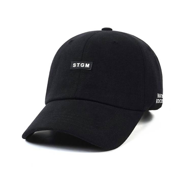 스티그마 STIGMA STGM OXFORD WASHING BASEBALL CAP BLACK - 풋셀스토어