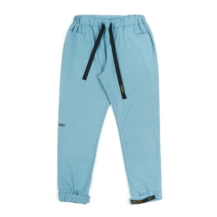 스티그마 STIGMA STGM OXFORD WIDE JOGGER PANTS SKYBLUE - 풋셀스토어