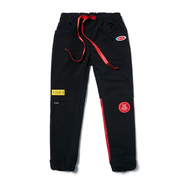 스티그마 STIGMA STGM FLEECE JOGGER PANTS BLACK - 풋셀스토어