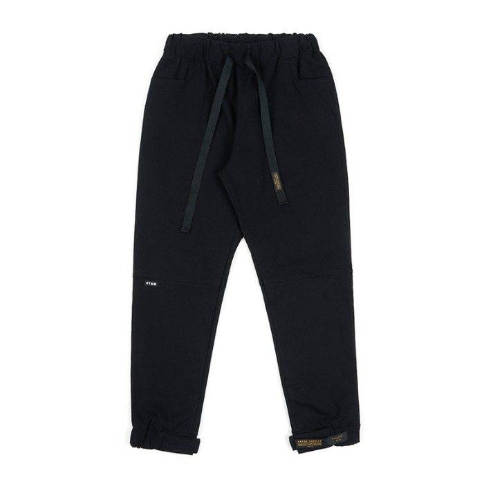 스티그마 STIGMA STGM OXFORD WIDE JOGGER PANTS BLACK - 풋셀스토어