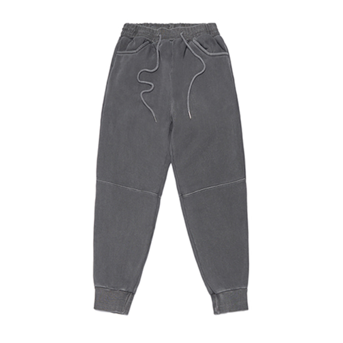 스티그마SCRAPE PIGMENT HEAVY SWEAT JOGGER PANTS DARK GREY - 풋셀스토어