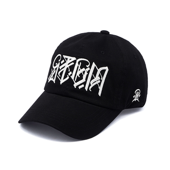 스티그마PLUMB WASHED BASEBALL CAP BLACK - 풋셀스토어