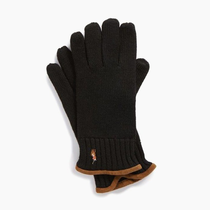 [폴로] POLO Classic Lux Merino Touch Glove Polo/Brown 장갑 - 풋셀스토어