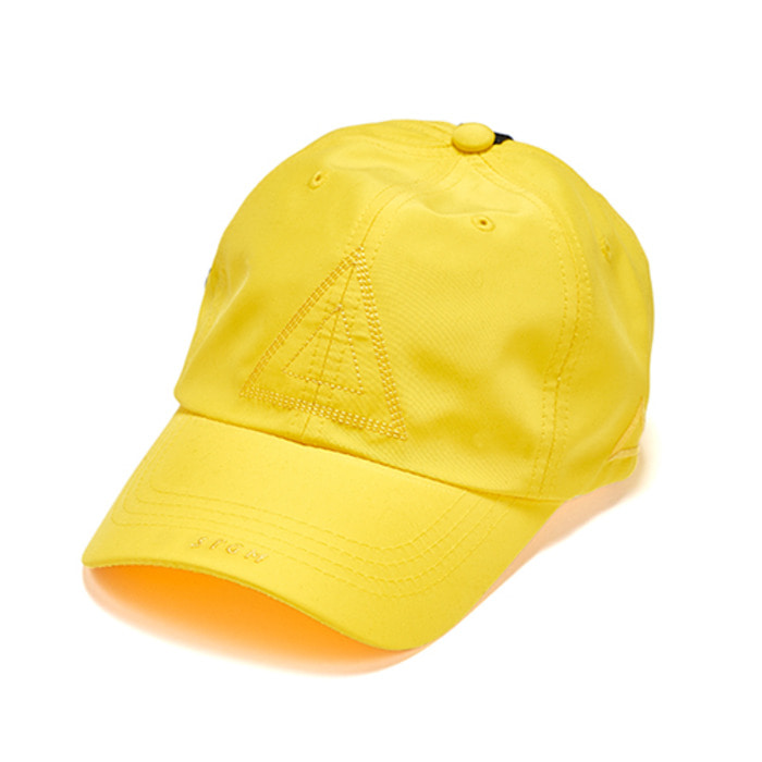 스티그마WASHED TECH BASEBALL CAP YELLOW - 풋셀스토어