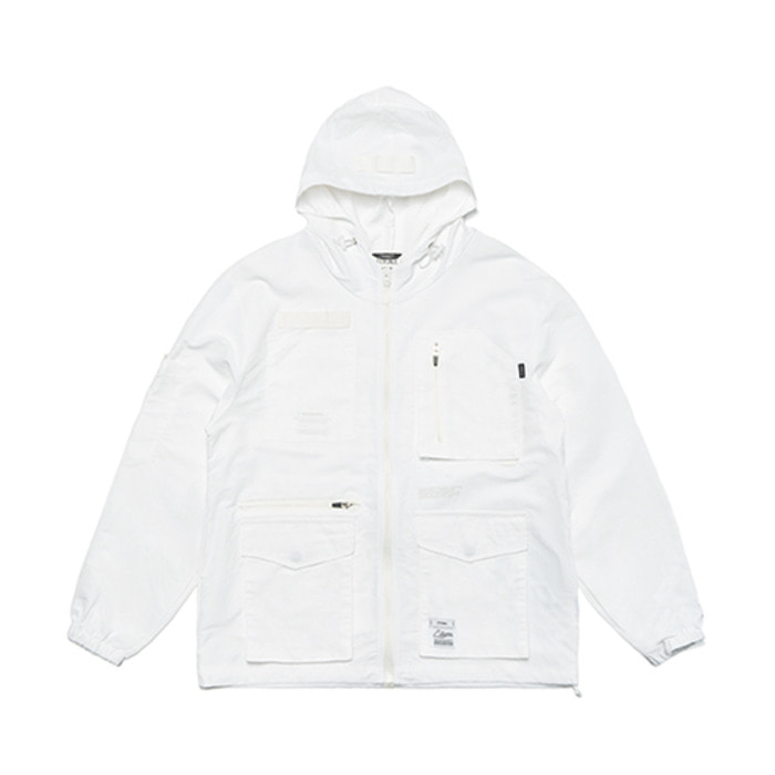 스티그마S TECH WINDBREAKER JACKET WHITE - 풋셀스토어