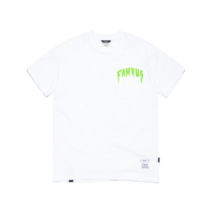 스티그마FAMOUS RABBIT T-SHIRTS WHITE - 풋셀스토어