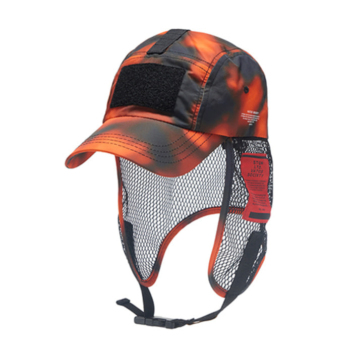 스티그마VSC FISHING CAP ORANGE PATTERN - 풋셀스토어