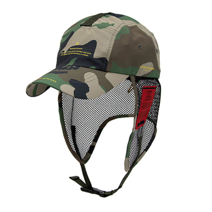 스티그마21SS TECH FISHING CAP CAMOUFLAGE - 풋셀스토어