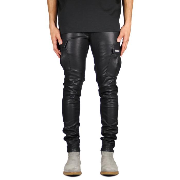 하이퍼데님 Leather Cargo Pant - 풋셀스토어