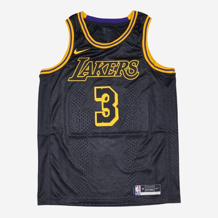 나이키 NBA LA 레이커스 앤서니 데이비스 스윙맨 저지 맘바 에디션